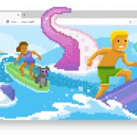 Игра Surf теперь доступна в стабильном канале Microsoft Edge