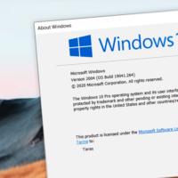 Список устаревших и исчезнувших из Windows 10 2004 функций