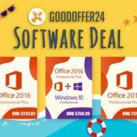 Летняя распродажа Goodoffer24 – Windows 10 Pro всего за 855 рублей