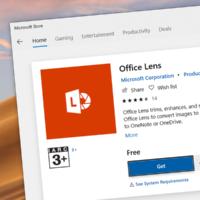 Microsoft удалит Office Lens из Microsoft Store 31 декабря