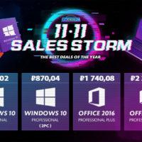Скидки на ключи для Windows 10 к 11.11 – операционная система всего за 574 рубля