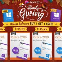 Ключ на Windows 10 в подарок при покупке Office в магазине Keysoff.com