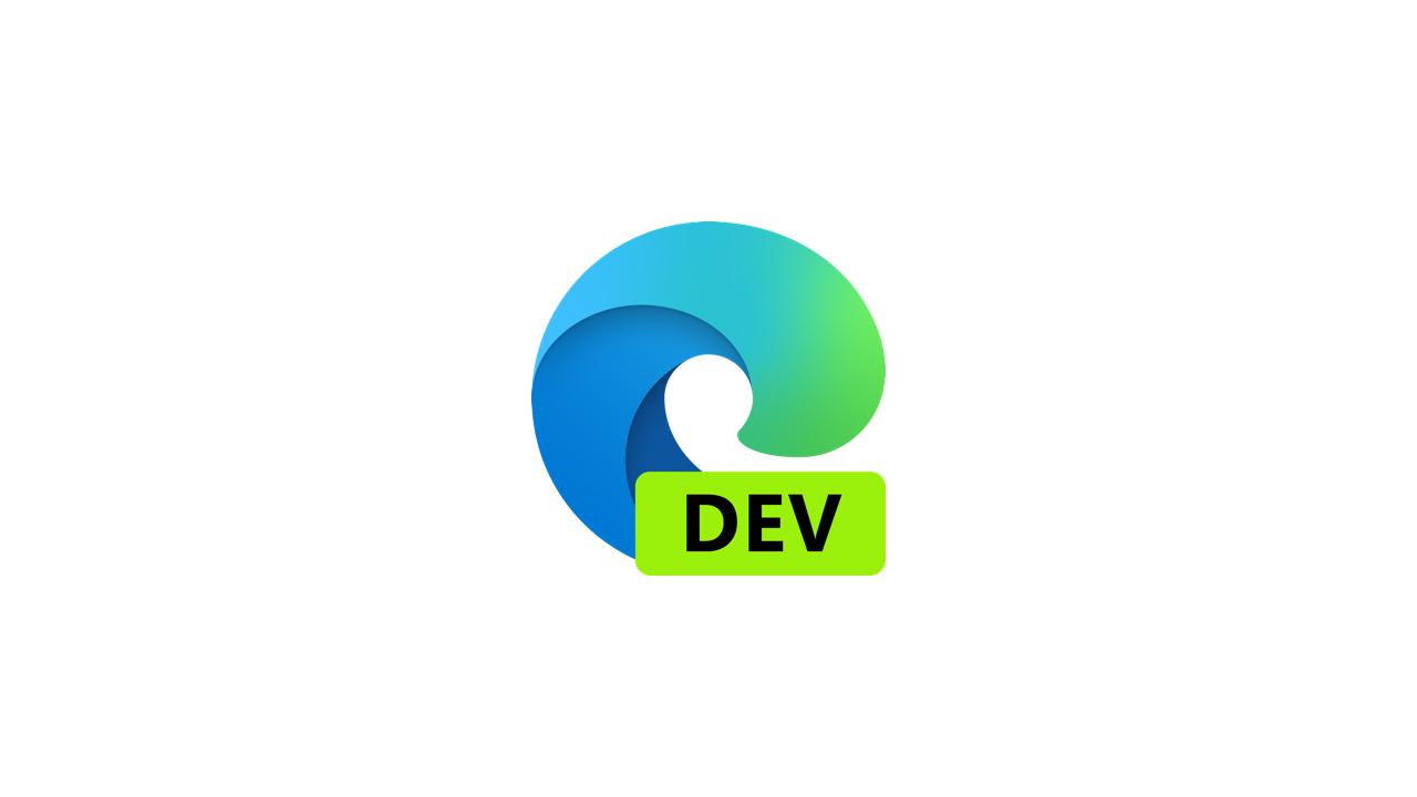 Выпущена сборка Microsoft Edge Dev 91.0.831.1