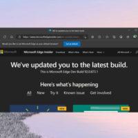 Браузер Edge получил интеграцию с Microsoft Office Online и поиском Windows