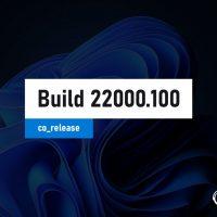 Windows 11 Insider Preview Build 22000.100 стал доступен на канале Beta