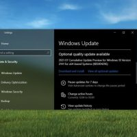 Windows 10 получила необязательное обновление, в котором исправлено падение FPS в некоторых играх и другие проблемы