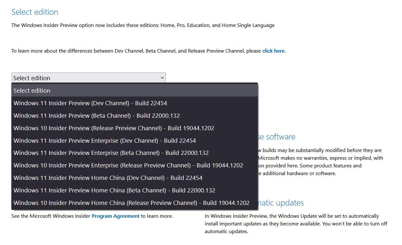 Выпущены официальные ISO-образы Windows 11 Insider Preview Build 22454