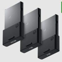 Новые карты памяти для Xbox Series X|S